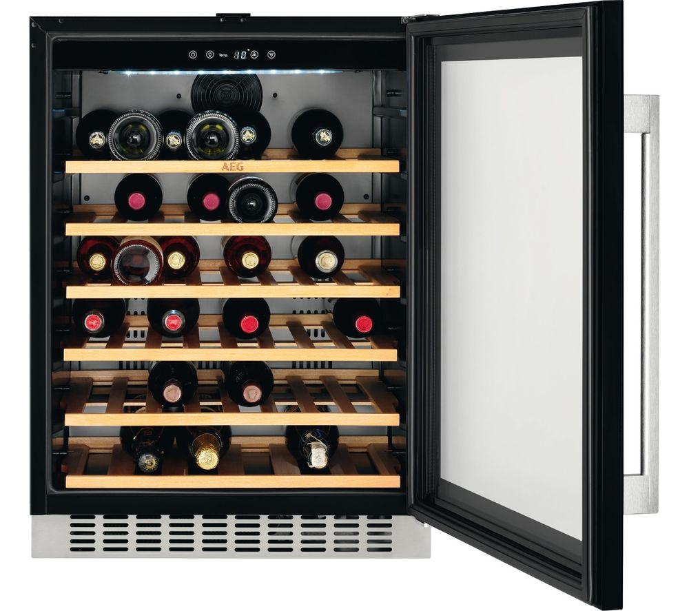 Buy Aeg Swe66001dg Integrated Wine Cooler Free Delivery
