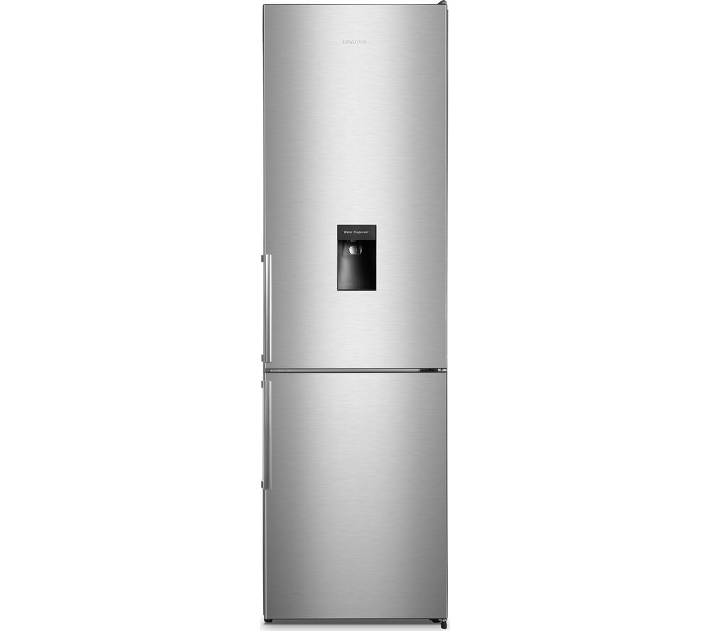 KENWOOD KNFD2MX18 70/30 Fridge Freezer - Inox Silver