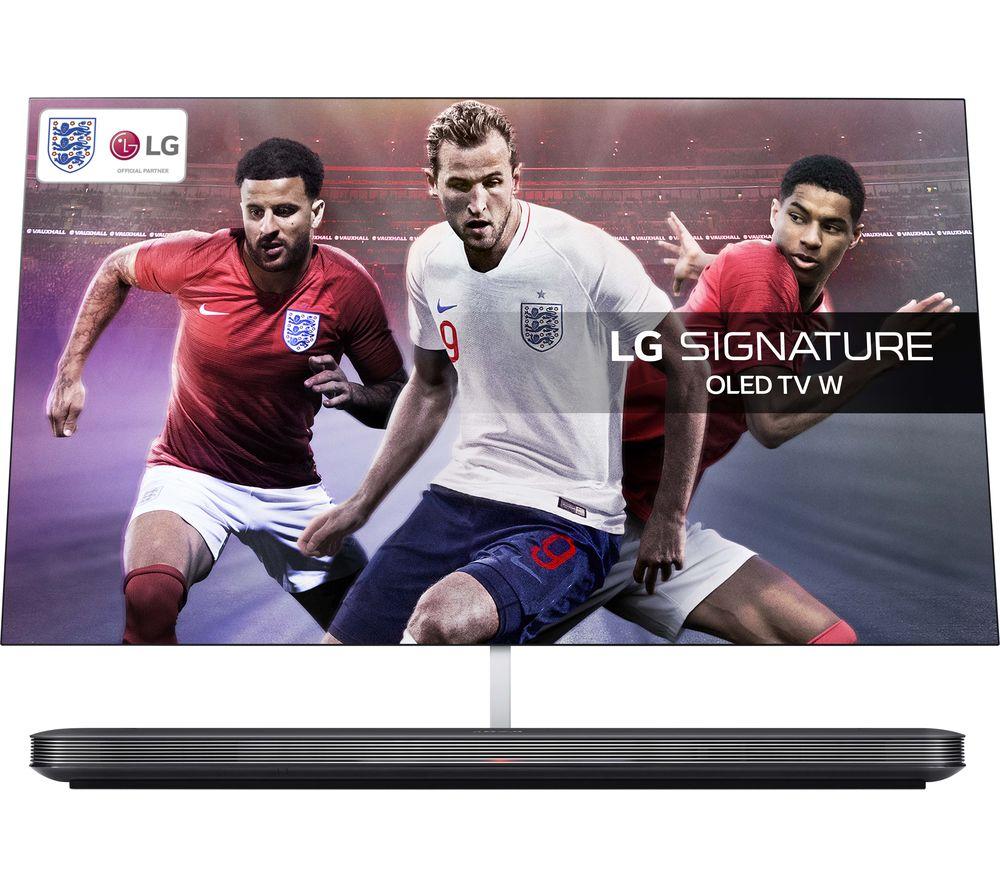 "Image of 77"" LG OLED77W8PLA Smart 4K Ultra HD HDR OLED TV, Black"