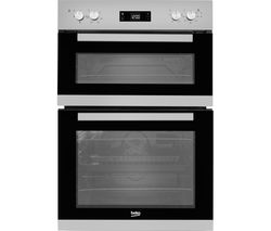 BEKO BXDF22300S Electric Double Oven - Silver