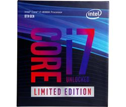 INTEL Core™ i7-8086K Unlocked Special Edition Processor