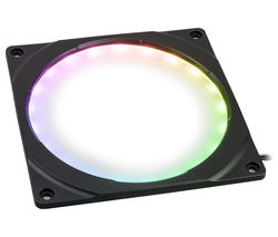 Halos Digital RGB LED Fan Frame - 120 mm, Black
