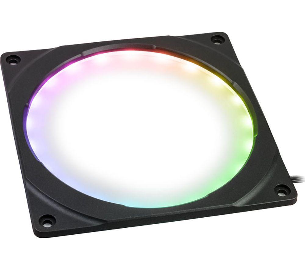 PHANTEKS Halos Digital RGB LED Fan Frame - 120 mm, Black