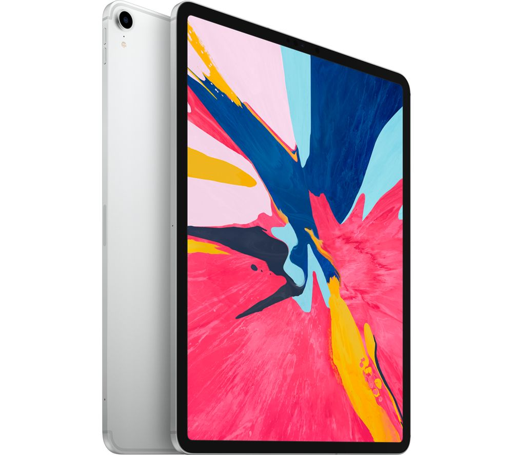 """Image of APPLE 12.9"""" iPad Pro Cellular (2018) - 1 TB, Silver, Silver"""