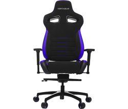 P-Line PL4500 Gaming Chair - Black & Purple
