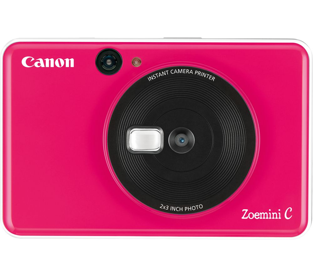 Canon Zoemini C Instant Camera Pink Pink