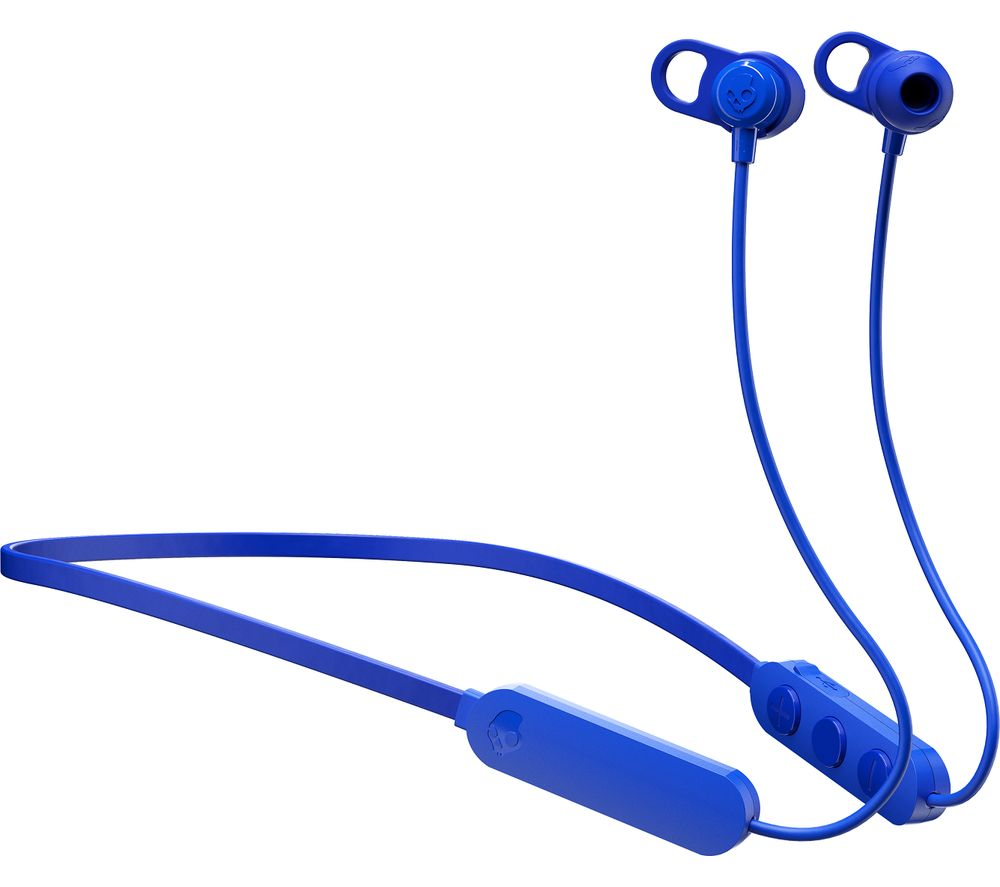 SKULLCANDY Jib+ Wireless Bluetooth Earphones - Cobalt Blue
