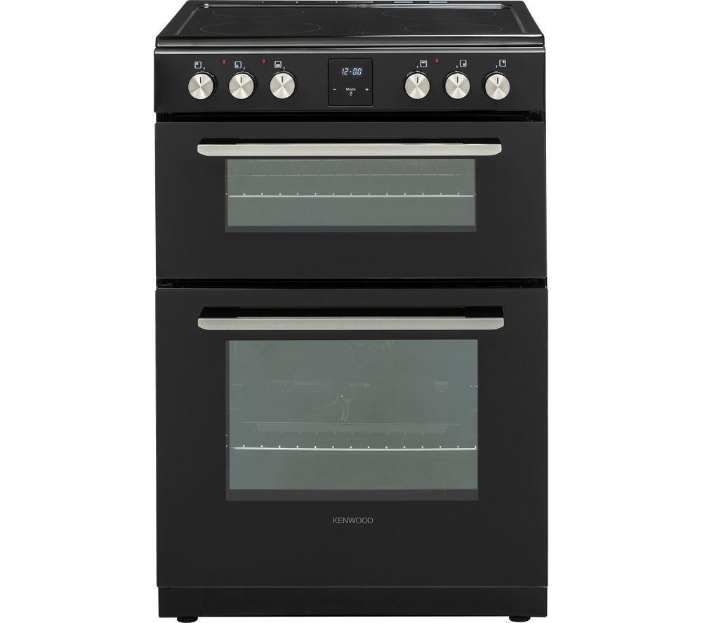 KENWOOD KDC606B19 60 cm Electric Ceramic Cooker - Black