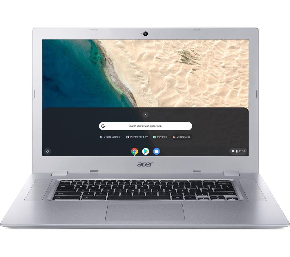 """ACER CB315-2H 15.6"""" AMD A6 Chromebook - 64 GB eMMC, Silver"""