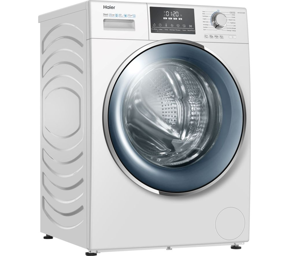 HW120-B14876 12 kg 1400 Spin Washing Machine - White, White