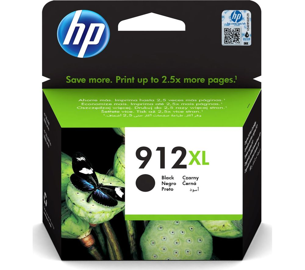 Image of 912XL Black Ink Cartridge, Black