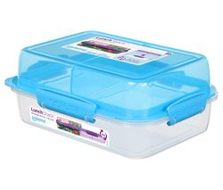 Lunch Stack To Go Rectangular 1.8 litre Container - Blue