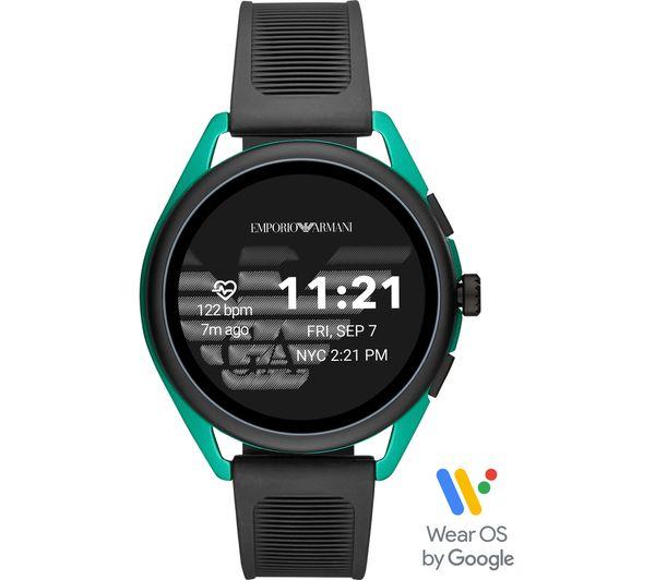Image of EMPORIO ARMANI ART5023 Smartwatch - Green, Universal