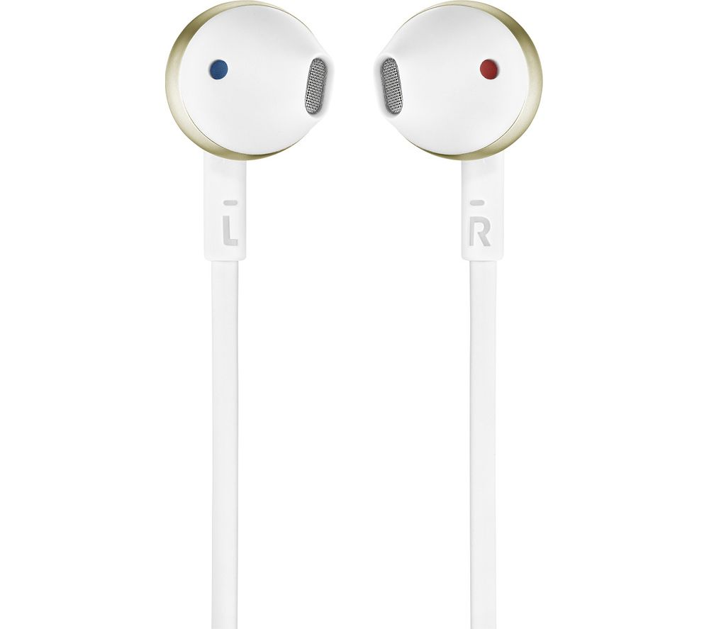 JBL Tune 205 Earphones - Gold