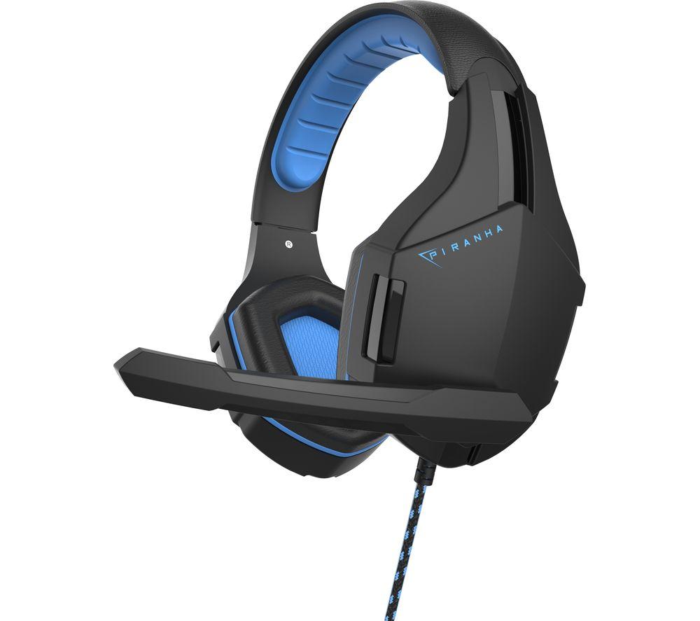 Image of HP25 Gaming Headset - Black & Blue, Black