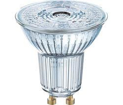Base Reflector LED Light Bulb - GU10, Pack of 3