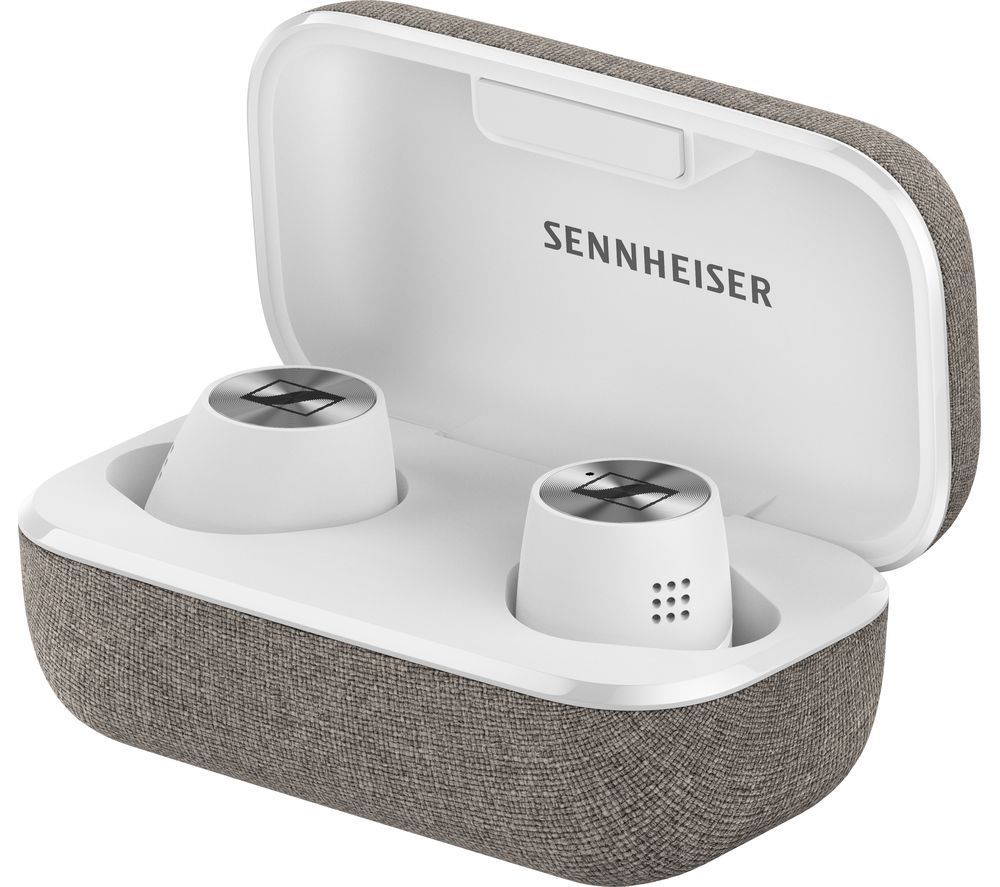 SENNHEISER Momentum True Wireless 2 Bluetooth Noise-Cancelling Earphones - White & Grey