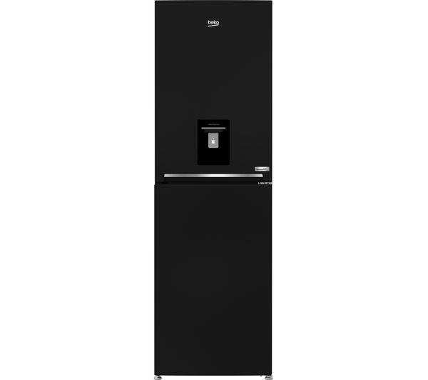 Image of BEKO HarvestFresh CFG3691DVB 50/50 Fridge Freezer - Black