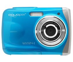 Splash W1024 High Performance Compact Camera - Ice Blue