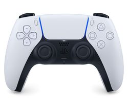 PS5 DualSense Wireless Controller - Black & White