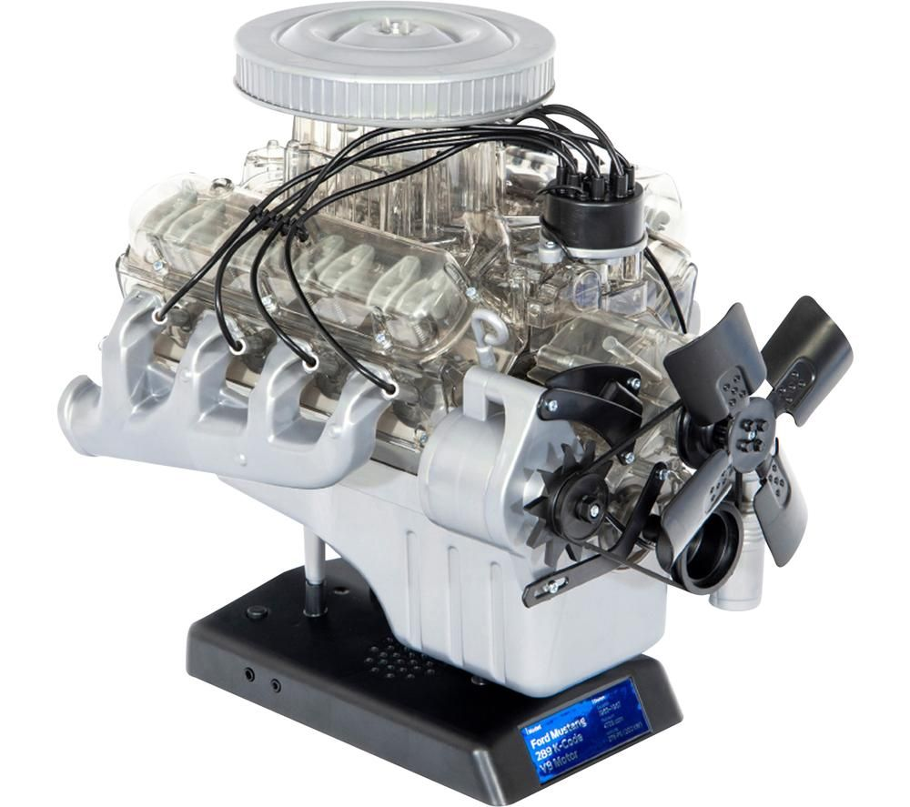 Image of FRANZIS Ford Mustang V8 Engine Model Kit