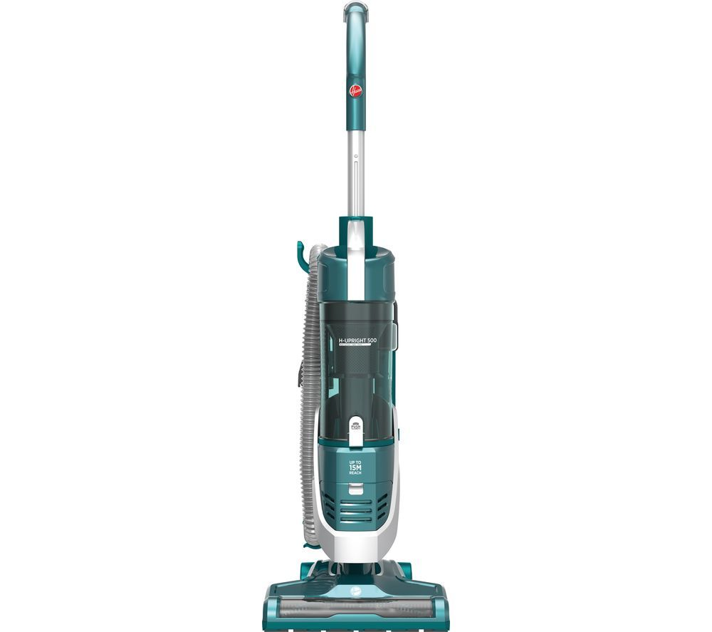 HOOVER H-Upright 500 HU500GHM Reach Home Upright Bagless Vacuum Cleaner - Teal & Grey