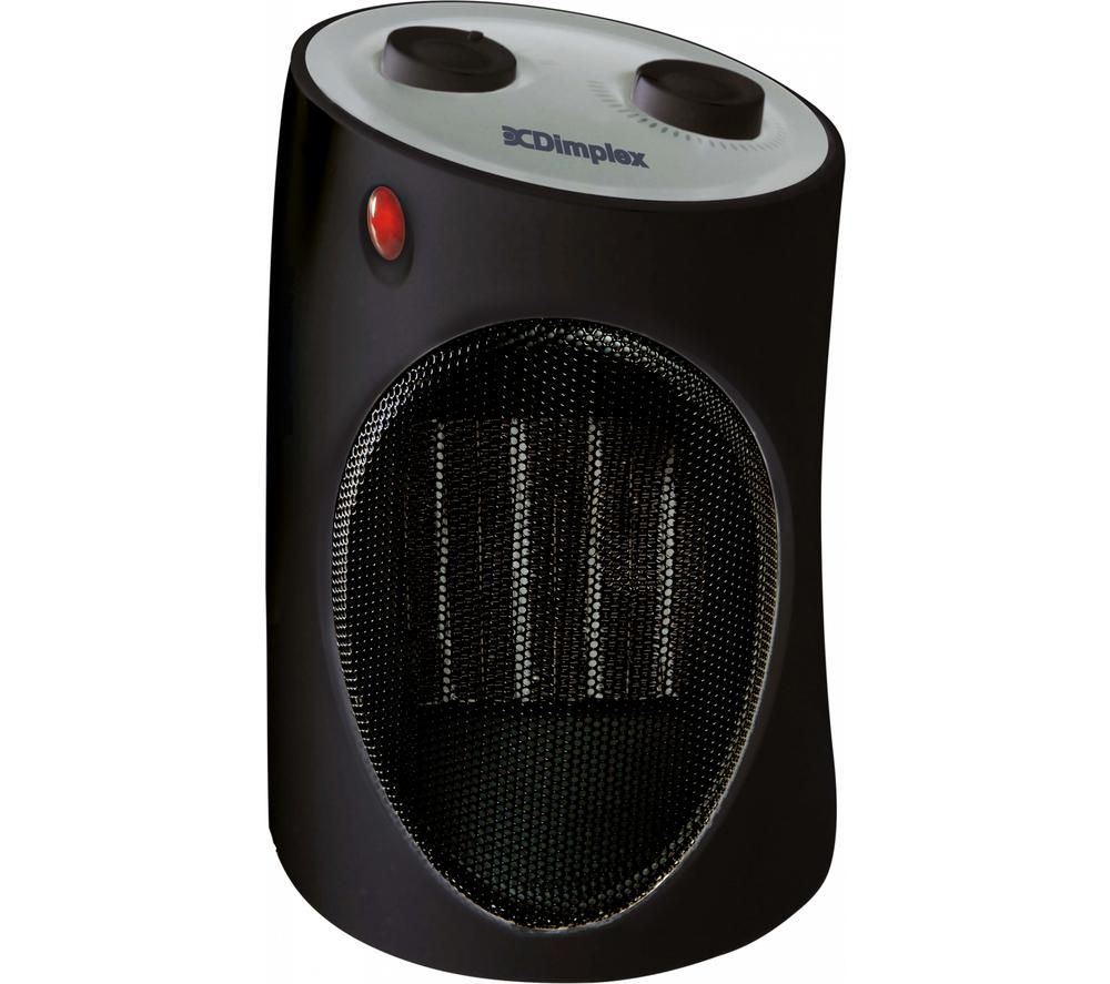 DIMPLEX DXUC2B Tusk Ceramic Fan Heater - Black & Silver