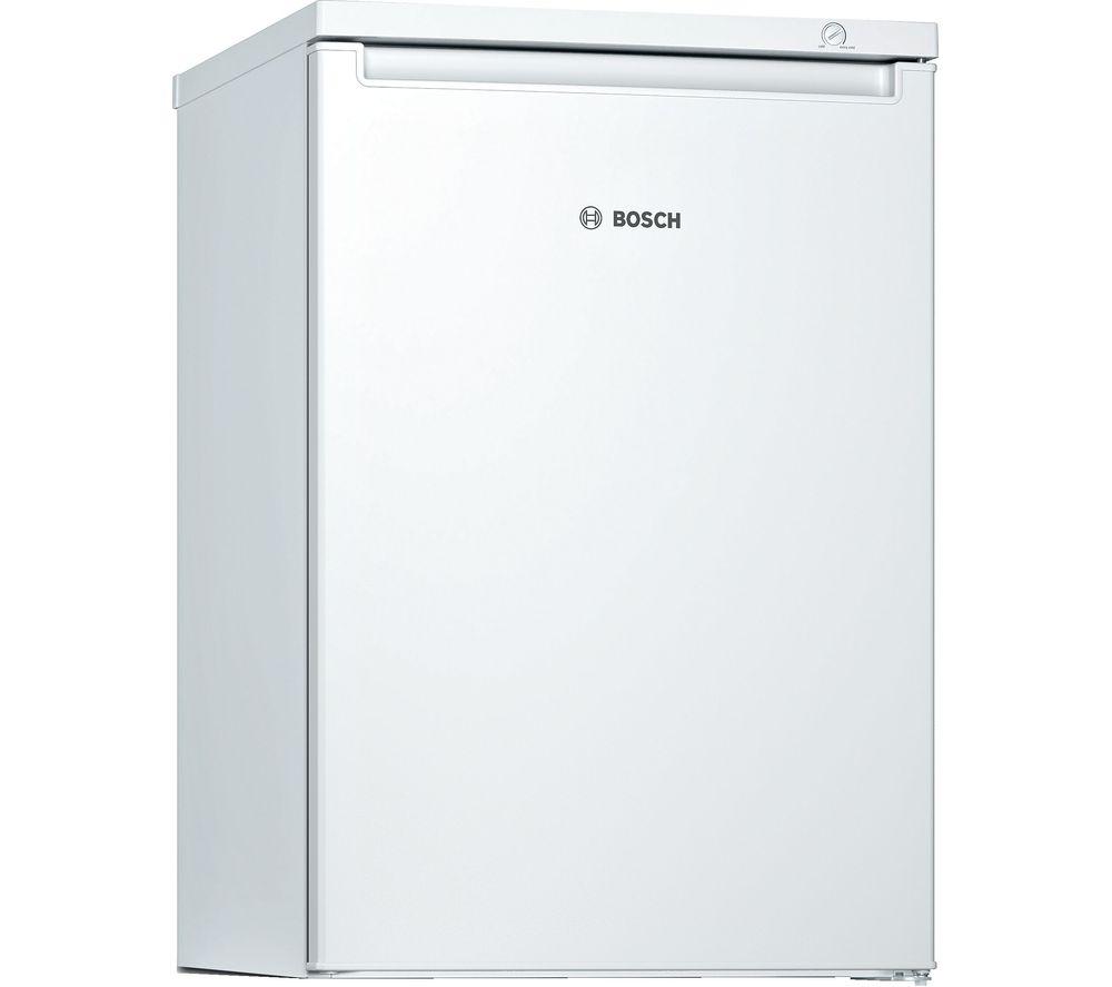 BOSCH Serie 4 GTV15NWEAG Undercounter Freezer - White