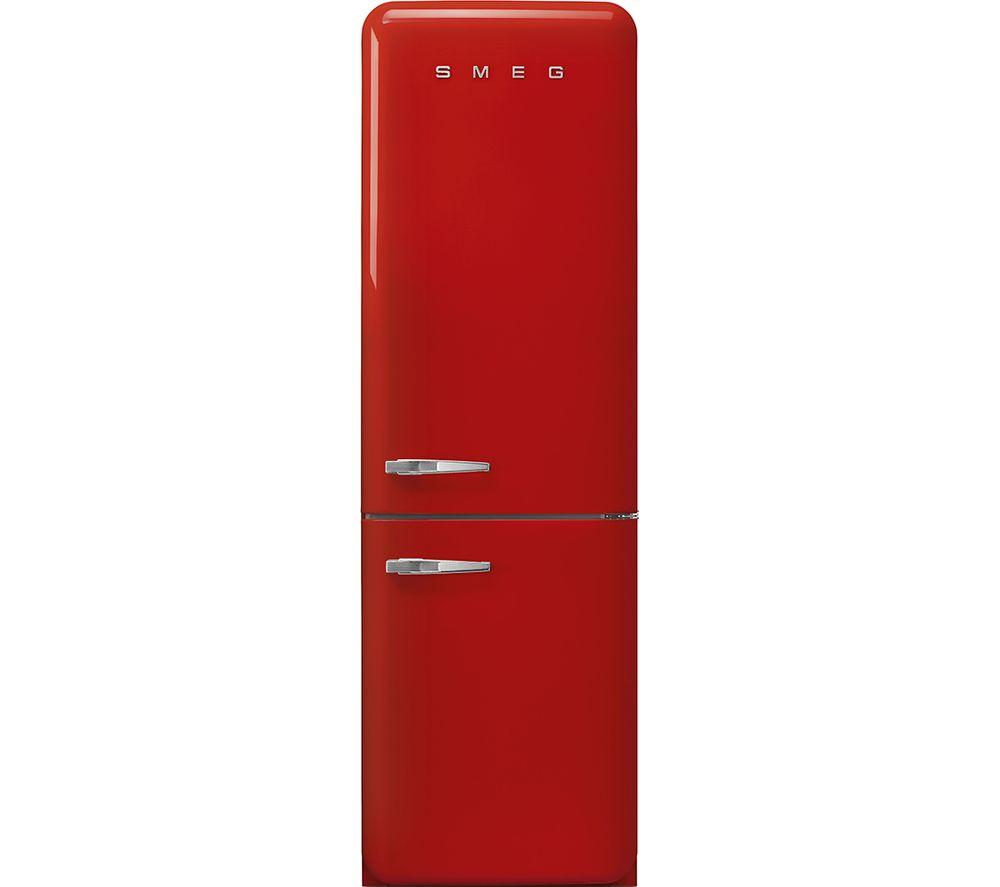 SMEG FAB32RRD5UK 70/30 Fridge Freezer - Red