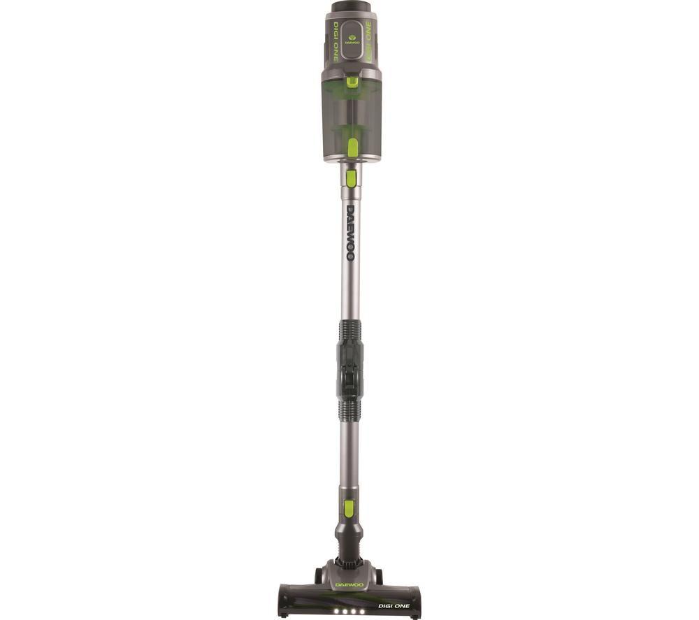 DAEWOO Cyclone Digi-One FLR00043 Cordless Vacuum Cleaner - Grey & Green