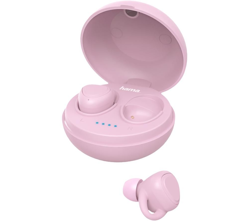 HAMA LiberoBuds 00184064 Wireless Bluetooth Earphones - Pink