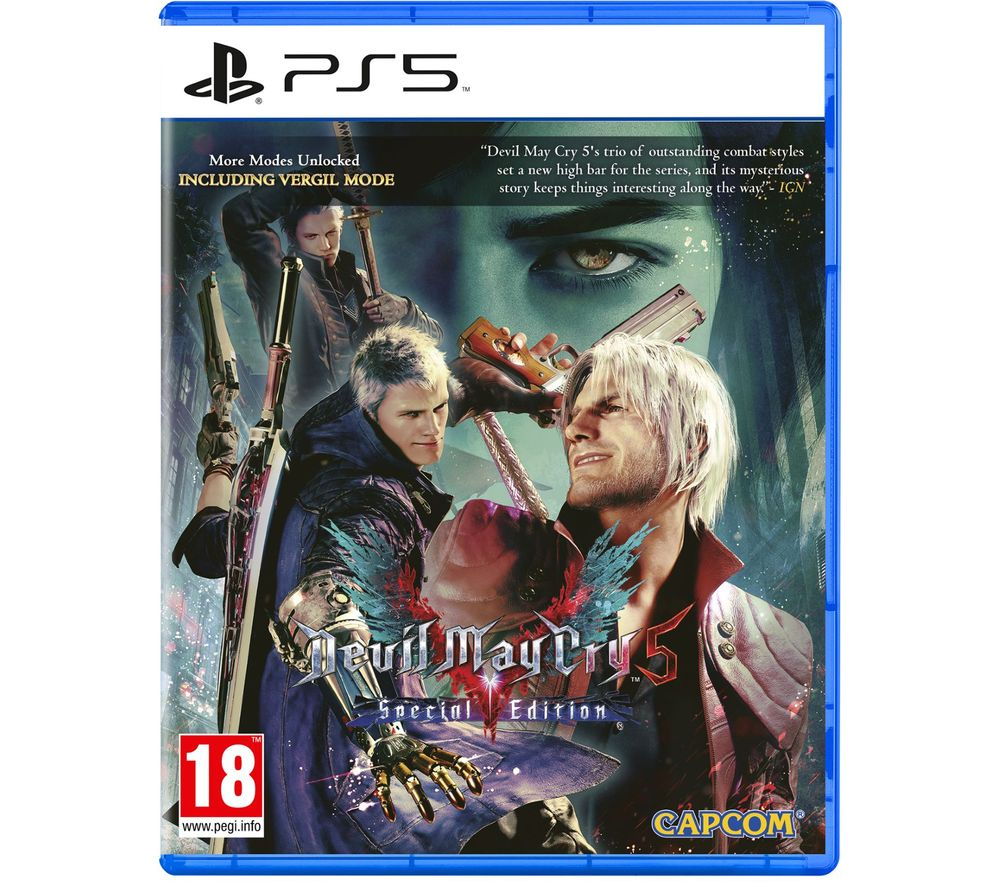 PLAYSTATION Devil May Cry V: Special Edition - PS5, Red