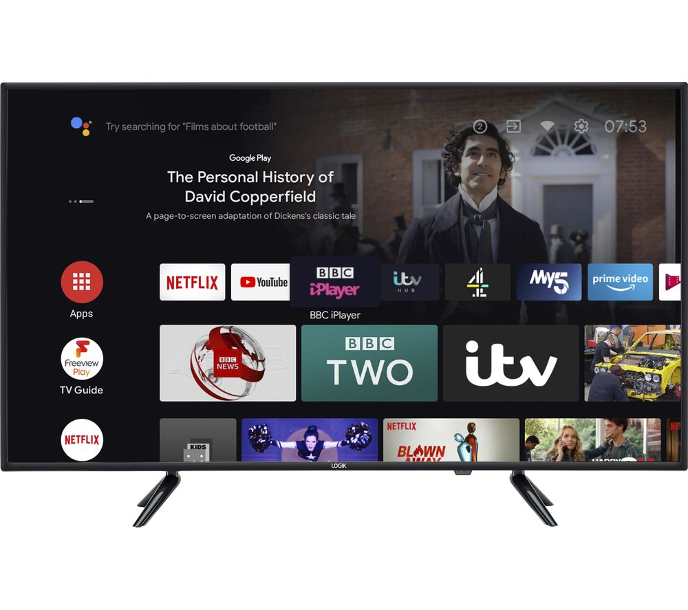 "LOGIK L40AFE21 Android TV 40"" Smart Full HD LED TV with Google Assistant"