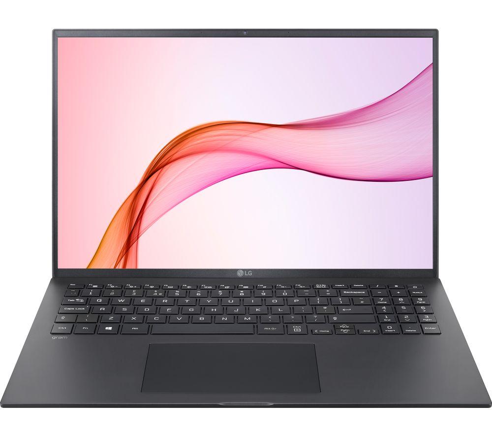 """LG GRAM 16Z90P 16"""" Laptop - Intel® Core™ i7, 512 GB SSD, Black"""