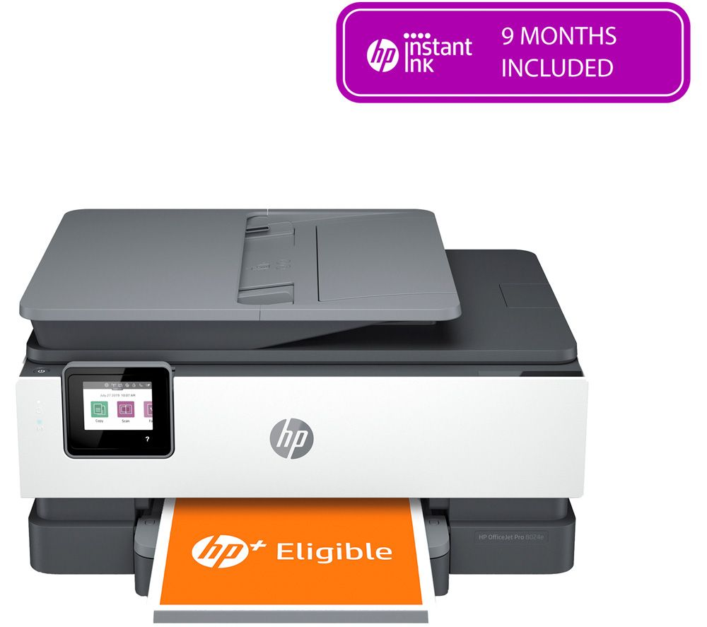 HP OfficeJet Pro 8024e All-in-One Wireless Inkjet Printer with Fax & HP