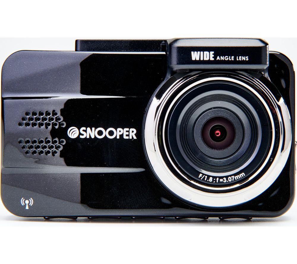SNOOPER DVR-4HD G3 Full HD Dash Cam - Black, Black