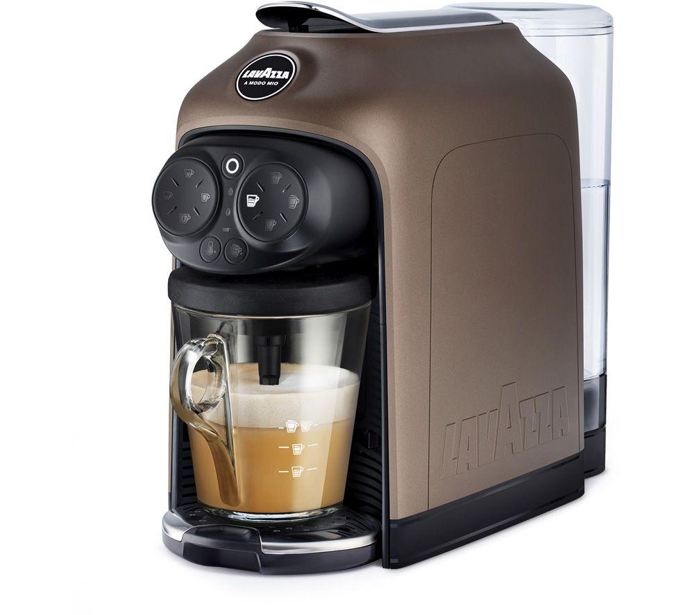 LAVAZZA A Modo Mio Deséa Coffee Machine – Brown Walnut, Brown