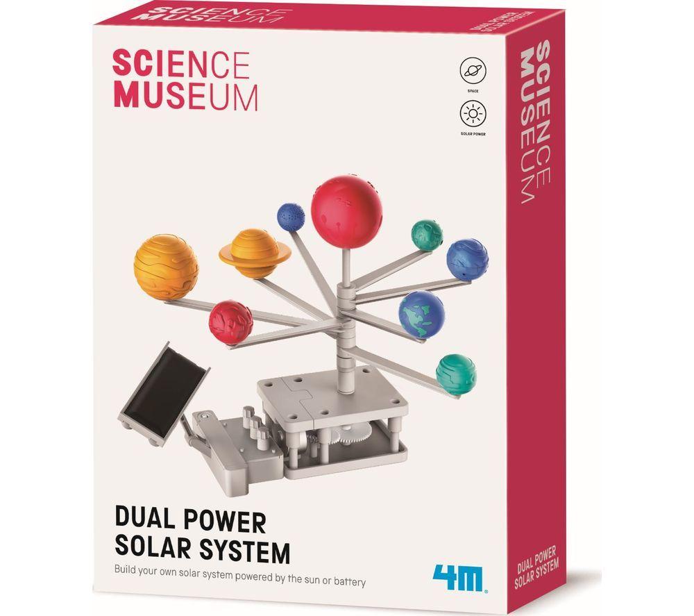 SCIENCE MUSEUM Dual Power Solar System Science Kit