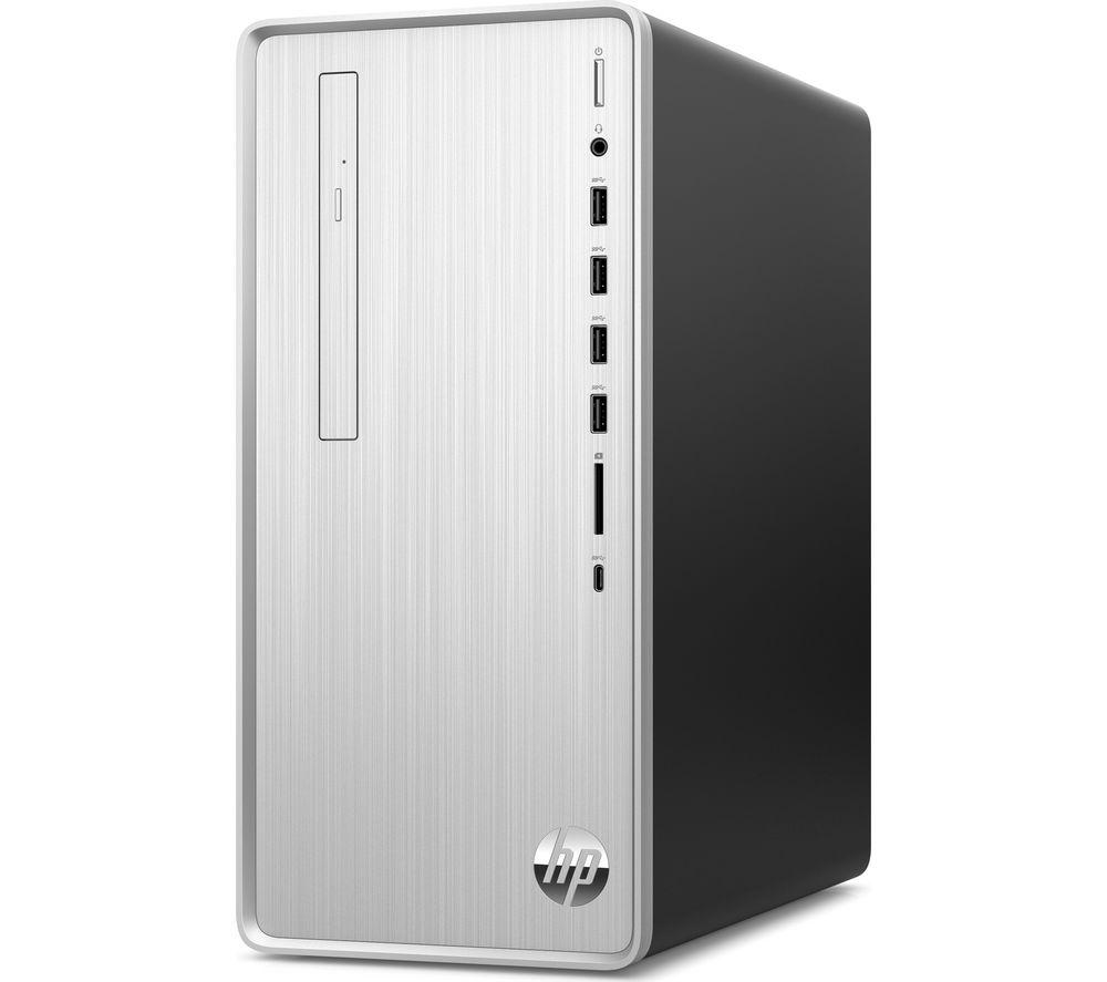 Image of HP Pavilion TP01-2000na Desktop PC - AMD Ryzen 7, 1 TB HDD & 256 GB SSD, Silver