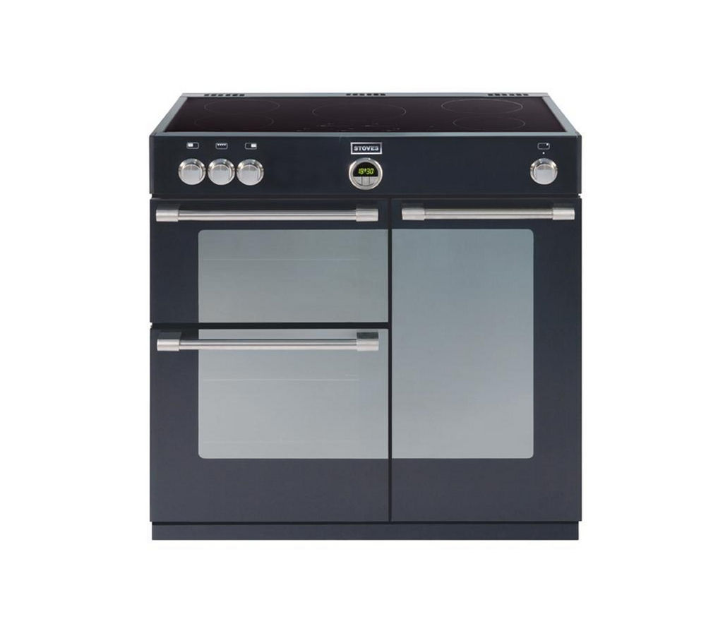 STOVES Sterling 900Ei Electric Induction Range Cooker - Black
