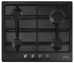 CANDY CPG64SPN Gas Hob - Black