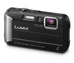 Lumix DMC-FT30EB-K Tough Compact Camera - Black