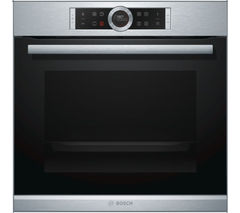 BOSCH Serie 8 HBG674BS1B Electric Oven - Stainless Steel