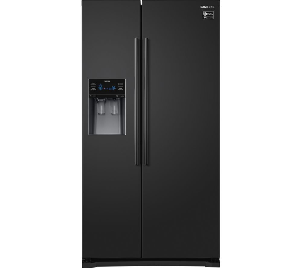 SAMSUNG RS53K4400BC American-Style Fridge Freezer - Black