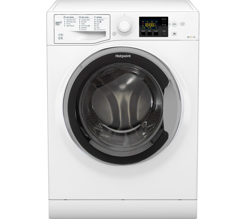 Buy Hotpoint Rg864s Washer Dryer White Free Delivery