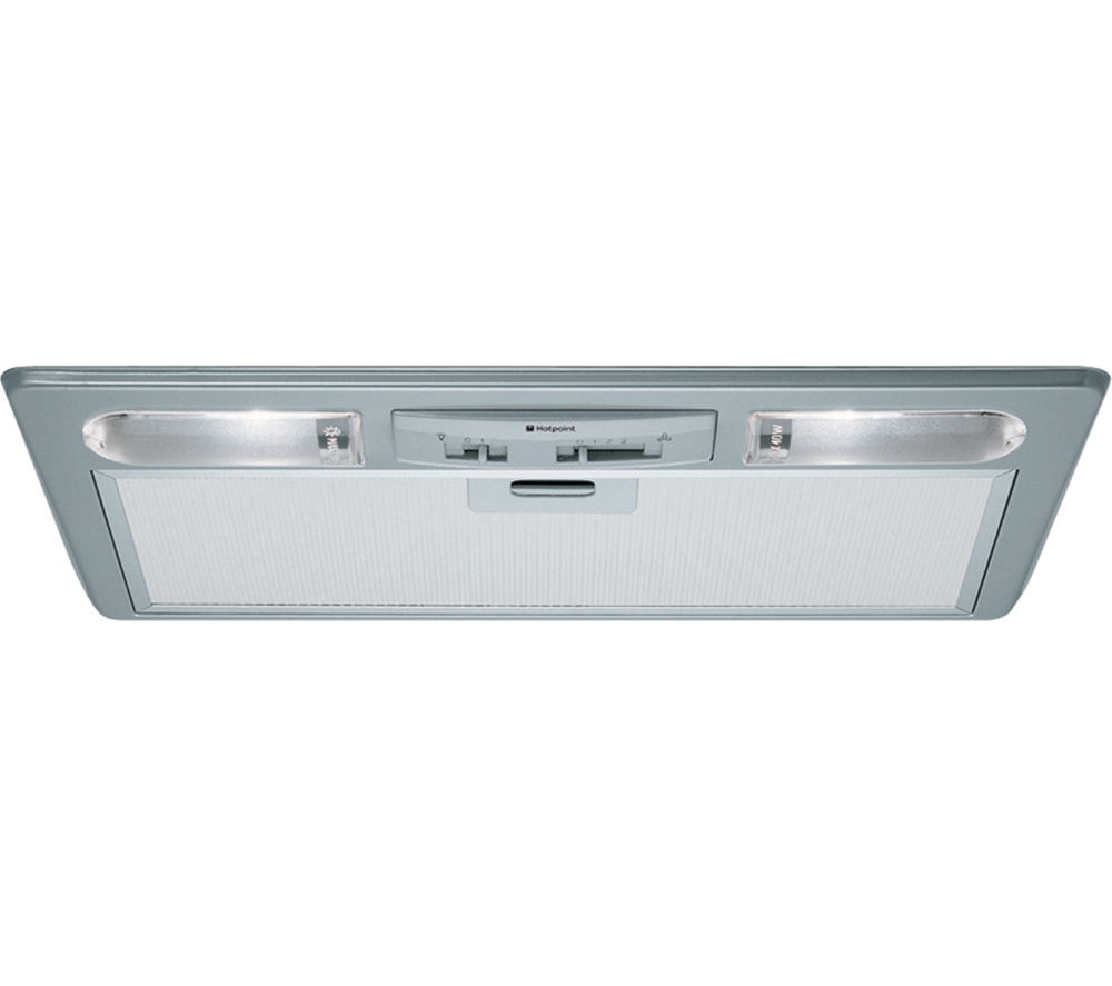 HOTPOINT HTU32X First Edition Canopy Cooker Hood - Stainless Steel