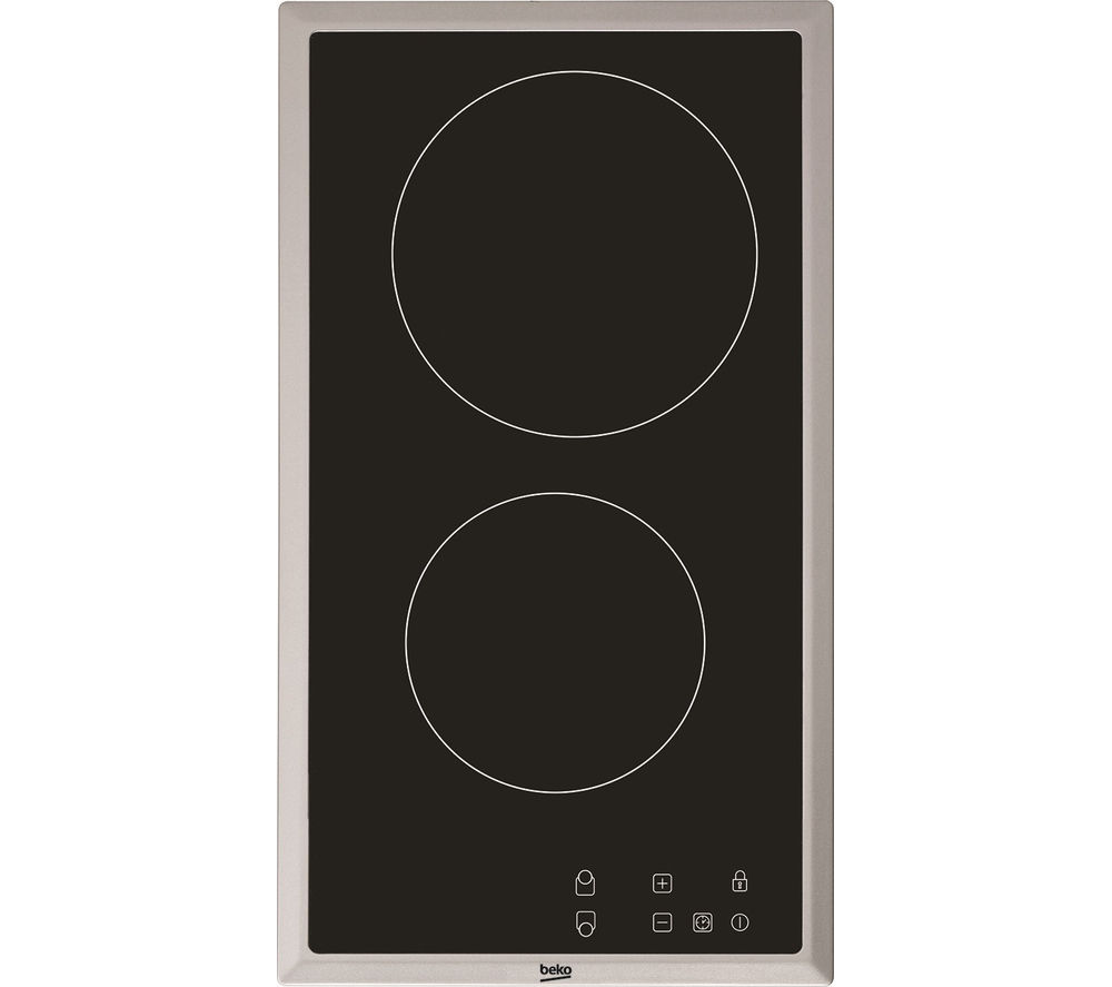 BEKO HDMC32400TX Electric Ceramic Domino Hob - Black
