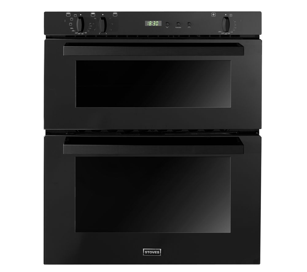 STOVES SEB700FPS Electric Built-under Double Oven - Black