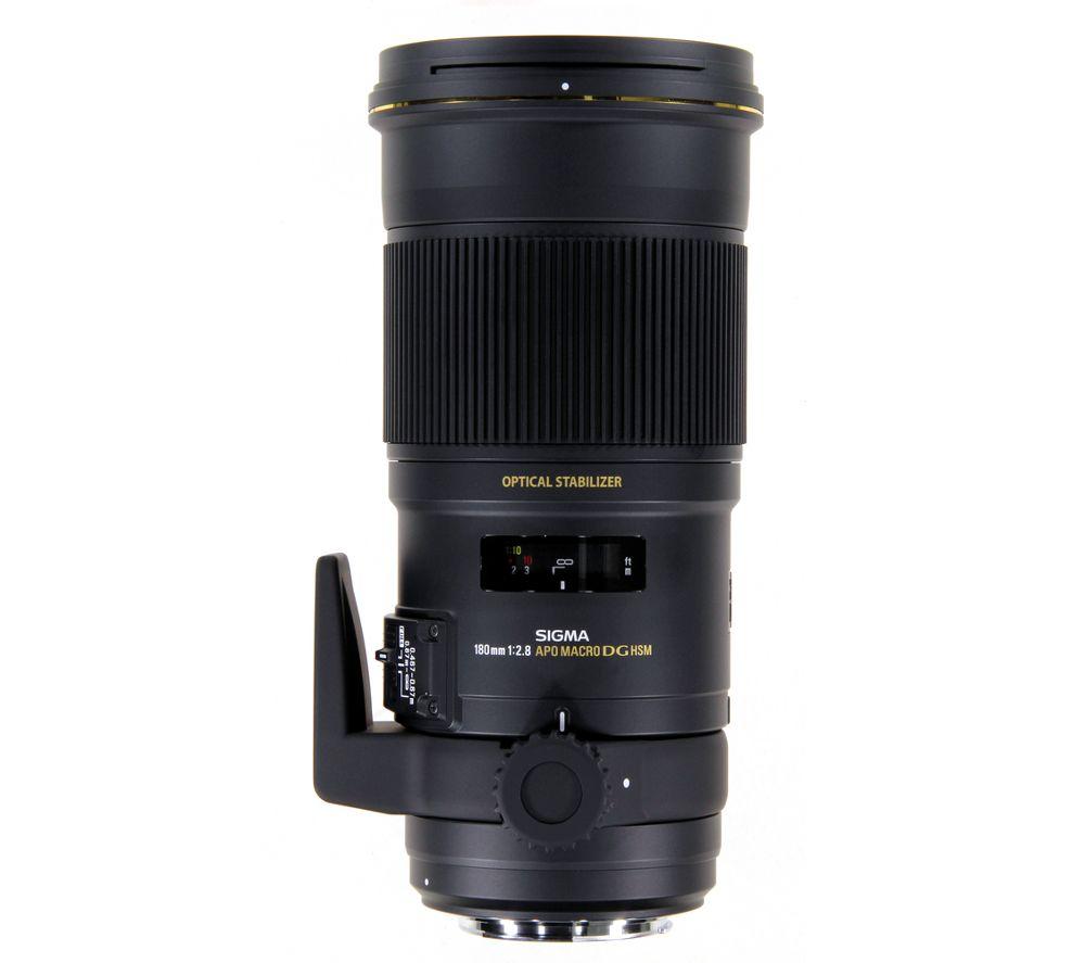 SIGMA 180mm f/2.8 APO EX DSG HSM Macro Lens - for Sony