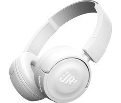 JBL T450 Headphones - White